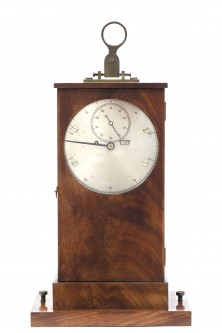 Trouvaille; A Clock With A Decimal Timepiece