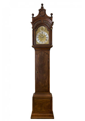 A Fine English Mahogany Longcase Clock, W. Ward London, Circa 1770