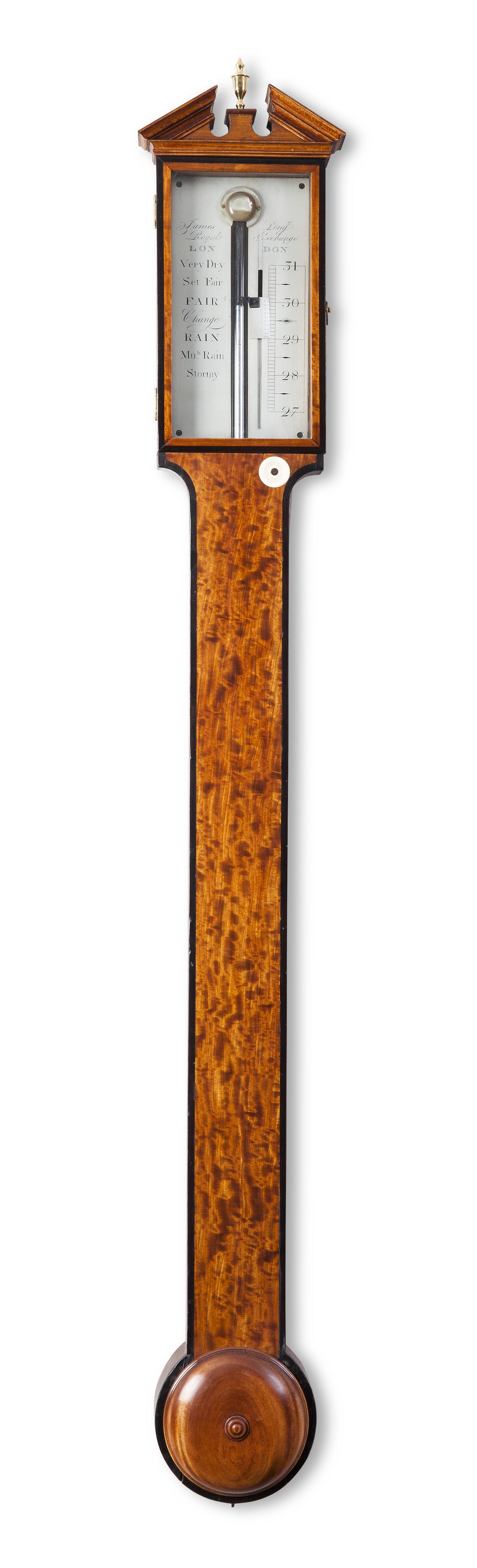 Engelse Satijnhouten Barometer