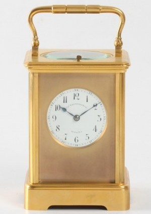 A French Carriage Clock With Rare Striking, Grottendieck Brussel, Circa 1880