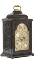 English Table Clock Quarter Repeat James Wittit 1740