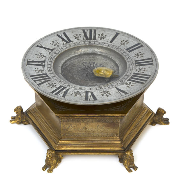 French Tortoise Mystery Clock Planchon 1880