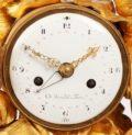 French Louis XVI Ormolu Mantel Clock Hannibal 1770