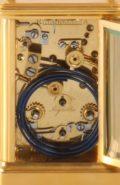 French Corniche Quarter Striking Margaine Carriage Clock 1880