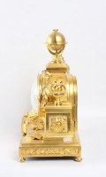 French Louis XVI Ormolu Mantel Clock Urania 1770