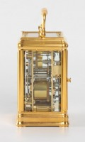 French Gorge Carriage Clock Henri Lepaute 1880