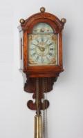 Dutch Frisian Wall Clock Staartschippertje Striking 1800