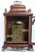 English Mahogany Table Clock Pritchard 1770