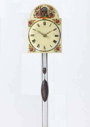 An Early German Black Forest Cuckoo Wall Clock, Circa 1830
