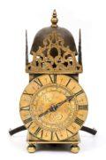 French Louis XIV Brass Lantern Alarm Rousseau 1665