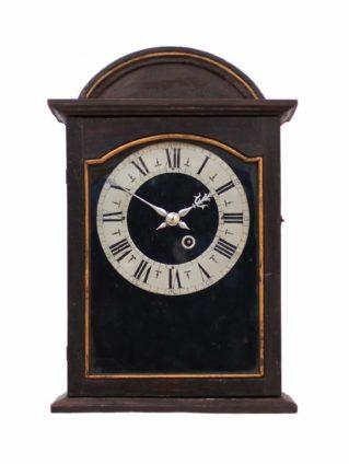 A Swiss Provincial 'religieuse' Wall Clock, Circa 1680