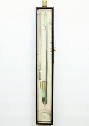 Een Engelse Mahonie Sympiesometer, Circa 1825