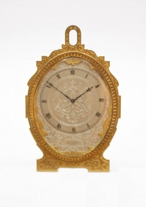 Een Engels 'strutt' Klokje, Thomas Cole Circa 1870
