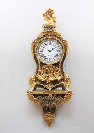 A French Louis XV Boulle Inlaid Bracket Clock, Musson, Circa 1740