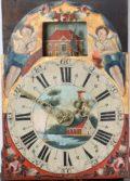 Dutch Frisian Wall Clock Soldier Automaton 1800