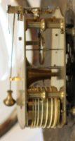English Mahogany Pub Convex Dial Clock 1820