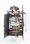 Swiss Brass Iron Zappler Wall Clock Alarm 1720