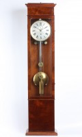Dutch Mahogany Wall Regulator Precision Kaiser The Hague 1850