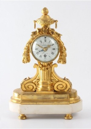 A Small French Louis XVI Timepiece, Imbert L'aîné, Circa 1765