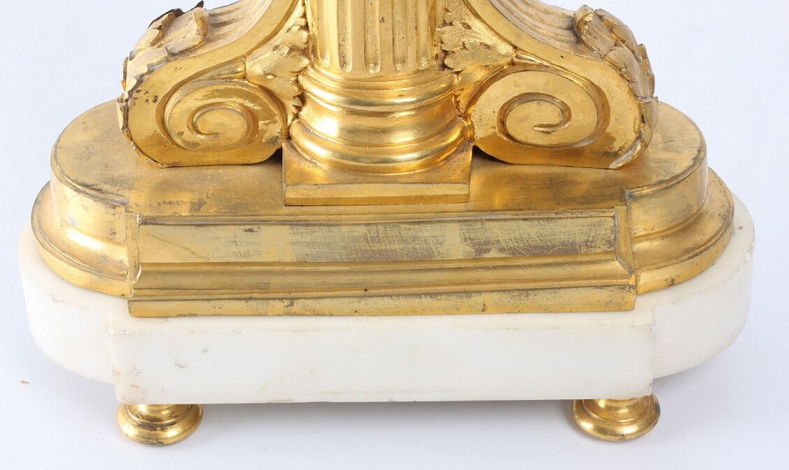 French Louis XVI Ormolu Mantel Clock Imbert 1770