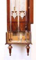 Dutch Louis XVI Mahogany Barometer Stoppani Amsterdam 1800