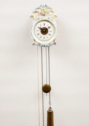 A Miniature German Black Forest Wall Alarm Timepiece, Jockele, Circa 1860
