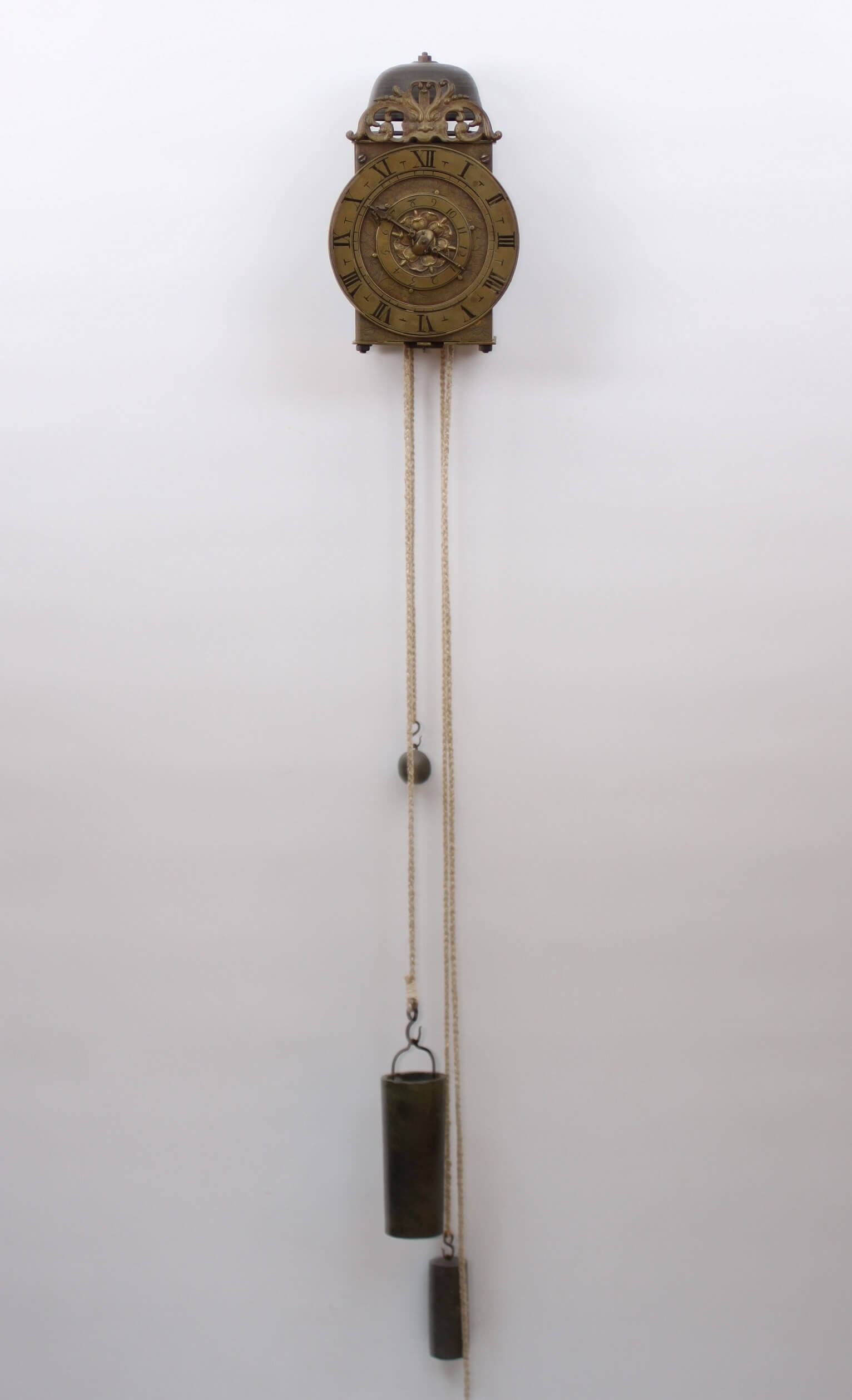 French Brass Lantern Balance Angers Suedois 1650