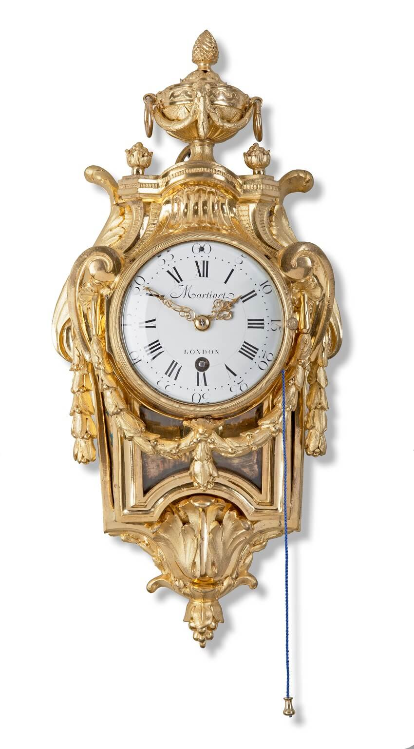 French Louis XVI Ormolu Cartel Martinot 1770