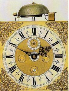 D 2 Joseph Norris Vehmeyer 1677 wijzerplaatklein