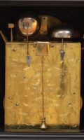 English Ebonized Bracket Clock Rimbault Antique