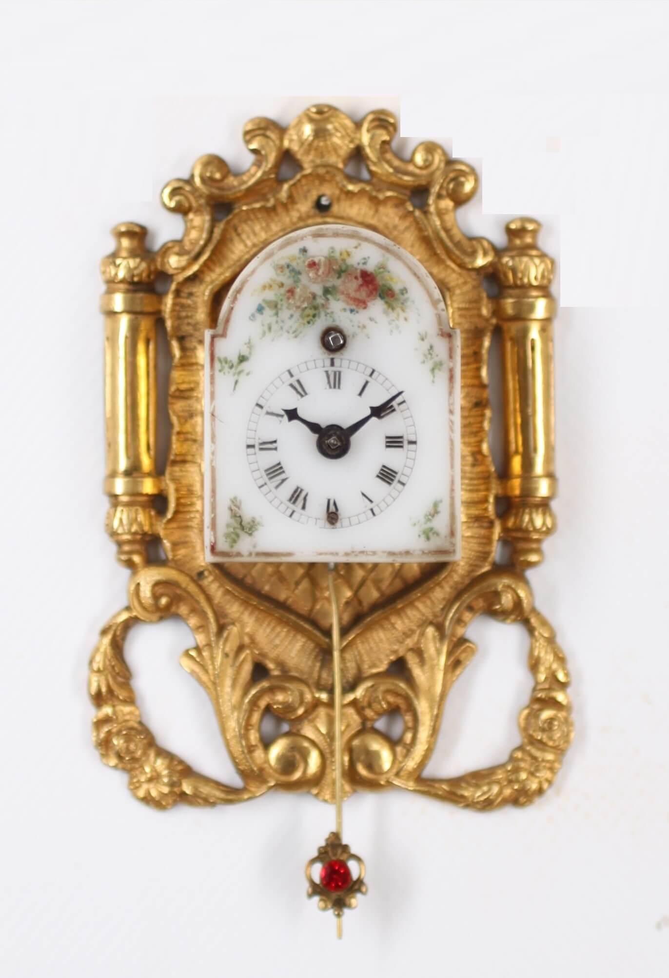 Miniature Vienna Ormolu Brettl Circa 1850