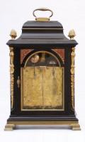 English Bracket Table Clock Quarter Striking Stephen Rimbault 1750