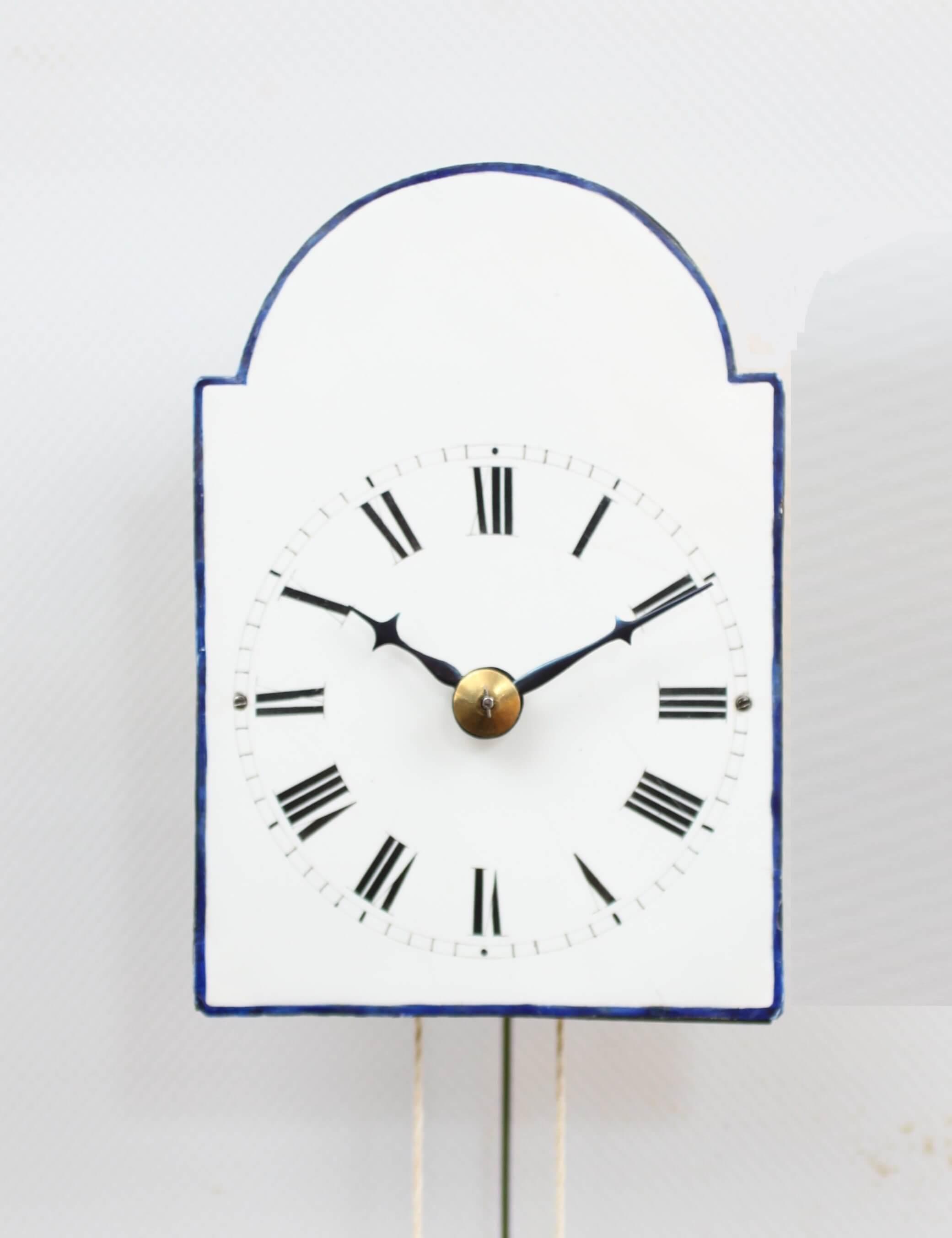 Austrian Wall Clock Brettl Vienna Timepiece