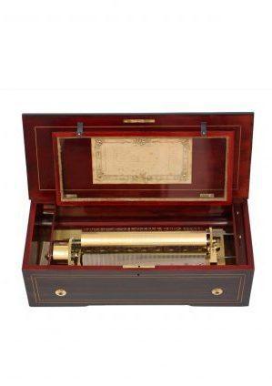 Een Zwitserse 'two Per Turn' Cilinder Speeldoos, LeCoultre Circa 1860