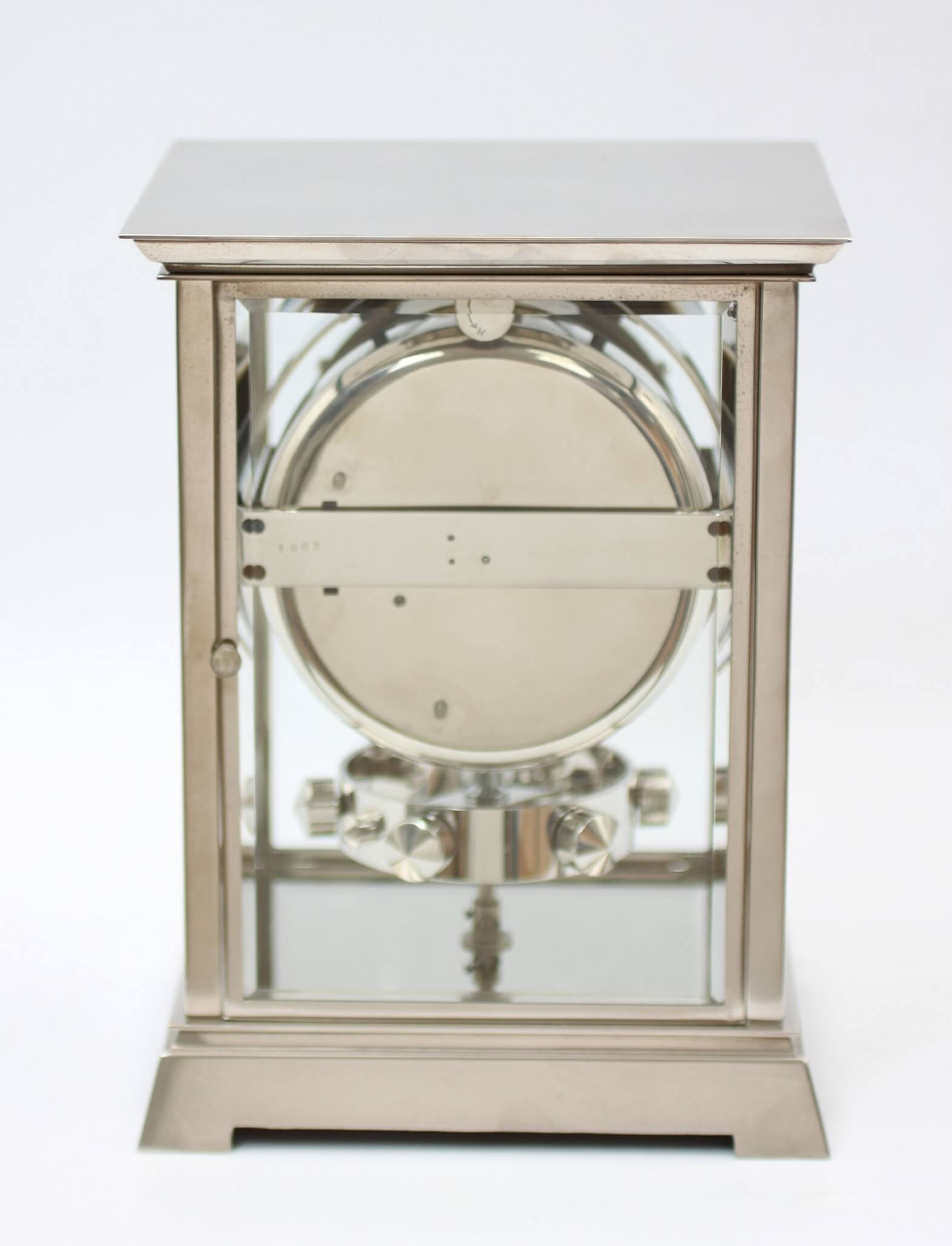 French Reutter Atmos Nickel Plated Circa 1830