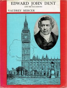 English Edward John Dent