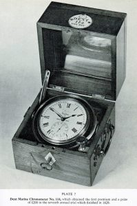 Edward John Dent antique clock chronometer