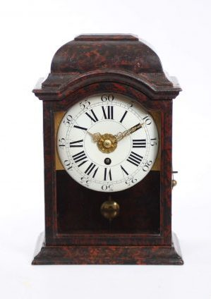 Swiss Neuchateloise Antique Clock Religieuse Wall Clock