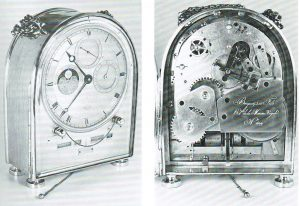 humpback French Empire Breguet antique clock