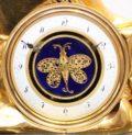 French Empire Ormolu Chariot Mantel Clock Automaton Deverberie Circa 1800