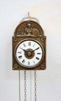 German Sorg Wall Clock Alarm Black Forest