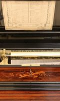 Swiss Rosewood Cylinder Music Box Interchangeable Bremont