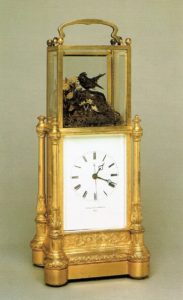 antique clock carriage travel Japy Frères