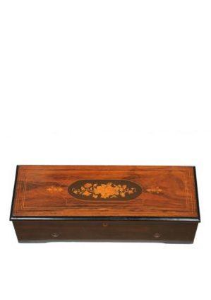 A Swiss 'Nicole Frères' Cylinder Music Box, Circa 1870
