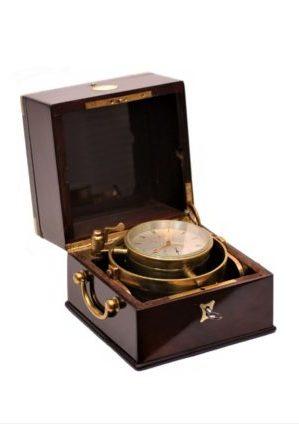 Een Franse 2-daagse Palissander Chronometer Onésime Dumas, Circa 1855