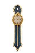 German-Swiss-Louis XVI-rack Clock-antique Clock-parcel Gilt-wood