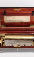 Swiss-music Box-rosewood-cylinder-musical-mechanical Music