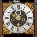 Dutch-Fromanteel-antique Clock-longcase-striking-Amsterdam-carving