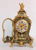 French-antique Clock-Regence-Boulle-Delorme-quarter Repeat-console-bracket Clock