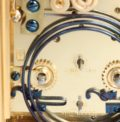 French-antique Clock-carriage Clock-striking-alarm-gilt Brass-gorge Case-Henri Jacot